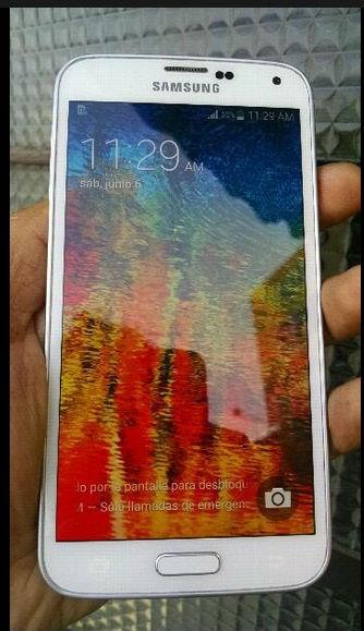 Samsung galaxy s5 blanco libre para cualquier operador de 16gb y bien conservado 4g - Imagen1
