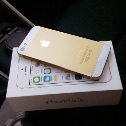 APPLE IPHONE 5S GOLD UNBOX
