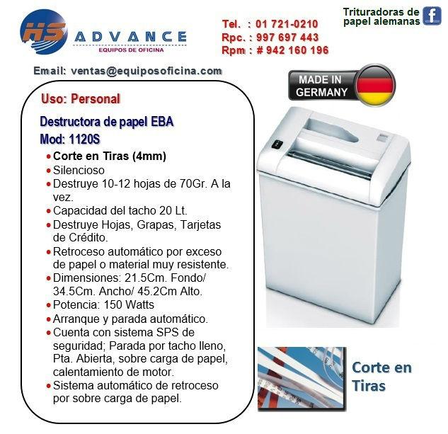 Personal EBA 1120S (Tiras)