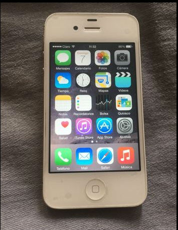 iPhone 4s De 16gb Libre De Fabrica - Imagen2