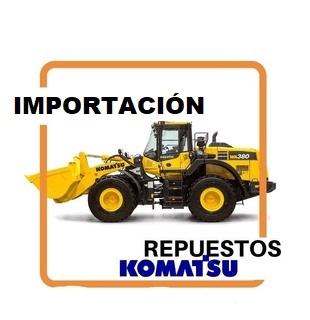 IMPORTACION REPUESTOS MAQUINARIA KOMATSU
