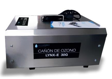 CAÑON PORTATIL GENERADOR DE OZONO VENTILACION BIDIRECCIONAL