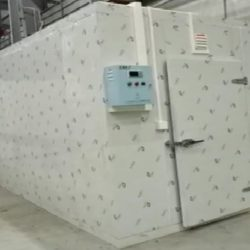 CUARTO de FRIO para almacenamiento de 10 toneladas de Hielo