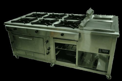 Cocina industrial full equipada