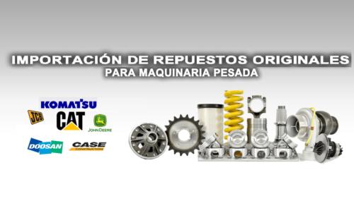 IMPORTACION DE REPUESTOS PARA MAQUINARIA PESADA